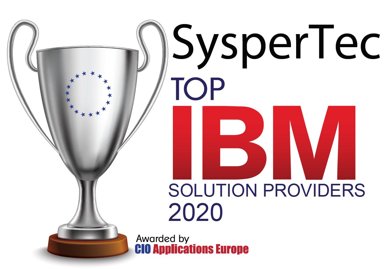 Syspertec Top solution Provider for IBM