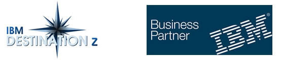 Logos IBM Business Partner et Destination z